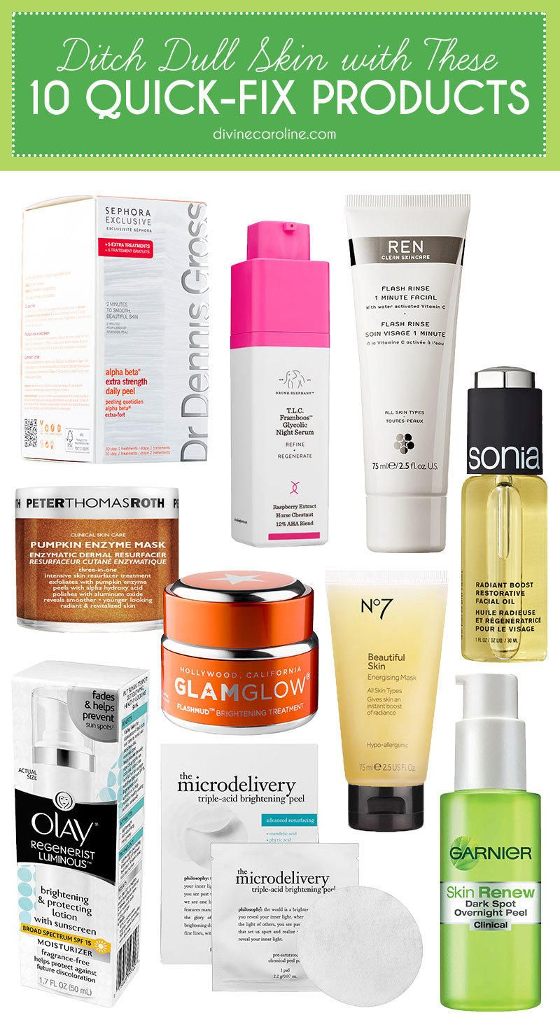 Ditch Dull Skin For Good With These 10 Quick Fix Products More Dull Skin Skin Care Skin Treatments