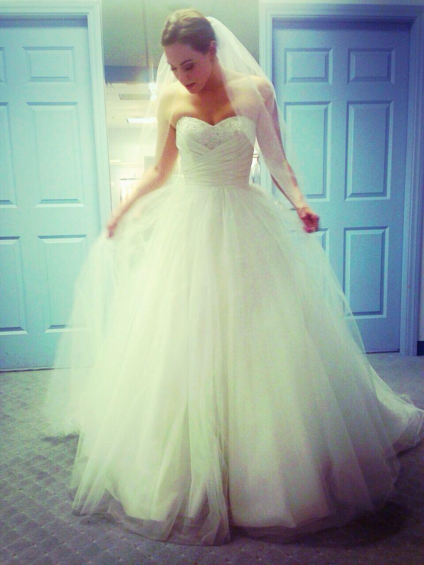 Alfred Angelo wedding gown. Cinderella style 205 | Wedding ideas ...