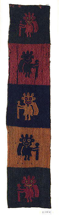 Embroidered Border Fragment Paracas