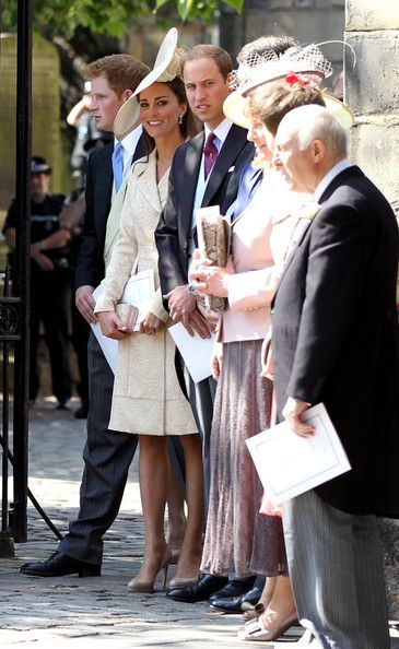 8729f273 Kate Middleton Photos - Zara Phillips and Mike Tindall are married at Canongate  Kirk before members of the royal family. - Zara Phillips and Mike Tindall  at ...