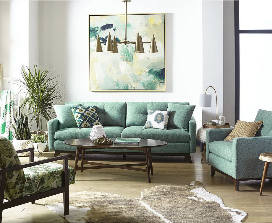 how to infuse color into your fall living room 10