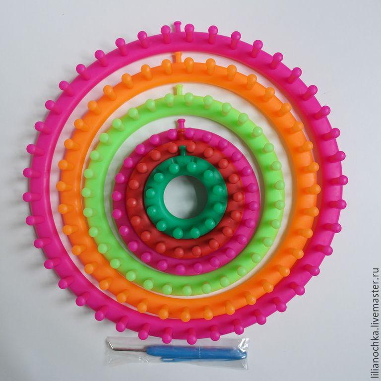 купить устройство для вязания Knitting Loom 6 станков