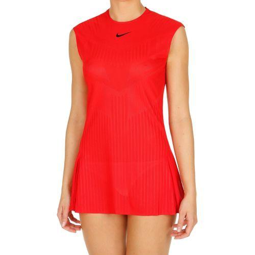Nike Court Dry Slam Dress Women - Red, Dark Blue
