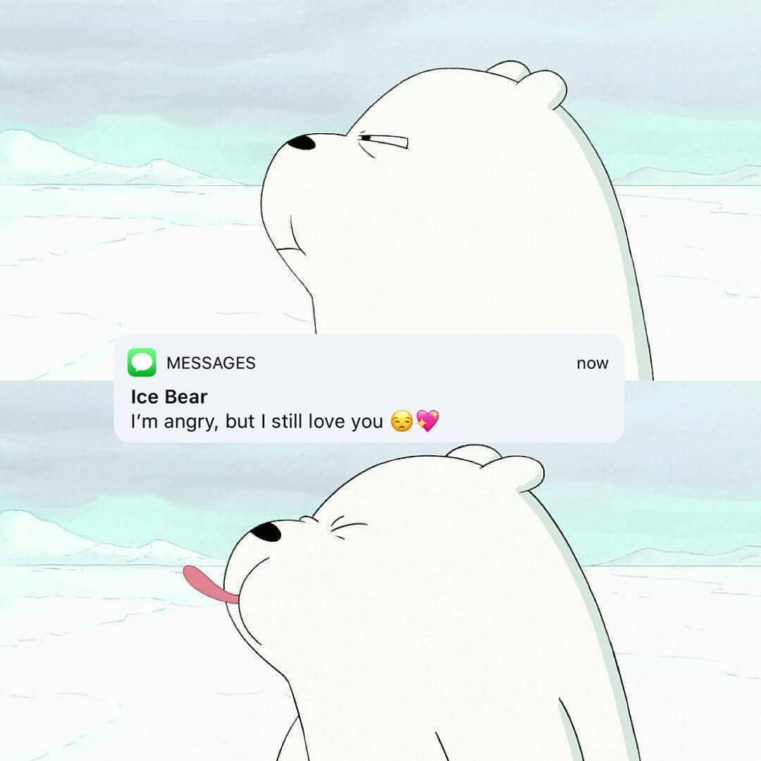 We Bare Bears On Instagram Tag Someone You Are Mad At But Still