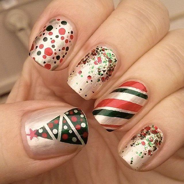 25 Best Christmas Nail Designs Red Christmas Nails Christmas Nail