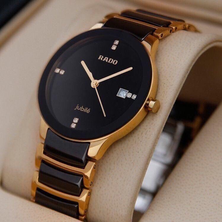 a74d8b62303 RADO black gold men s watch. Product - RADO watch MOP - Cash deposit   NEFT  Price - 2500 To buy   DM us or what s app us on 9016821053  rado  jubile   watch ...