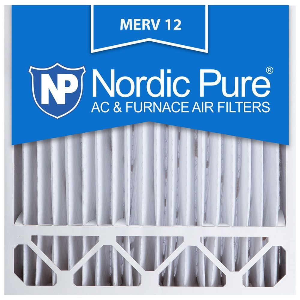 Best furnace air filters for allergies - Furnace Ac Air Filter Electrostatic Allergy 20x20x5 Merv 12 Nordic Pure 11 Nordicpure Acfilter