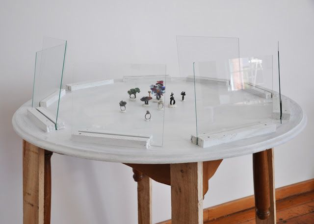 Installation and New Rings by Karl Fritsch