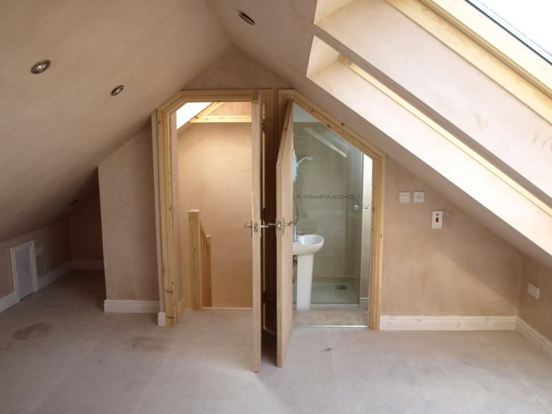 Bathroom loft conversion home pinterest lofts attic for Bathroom ideas loft conversion