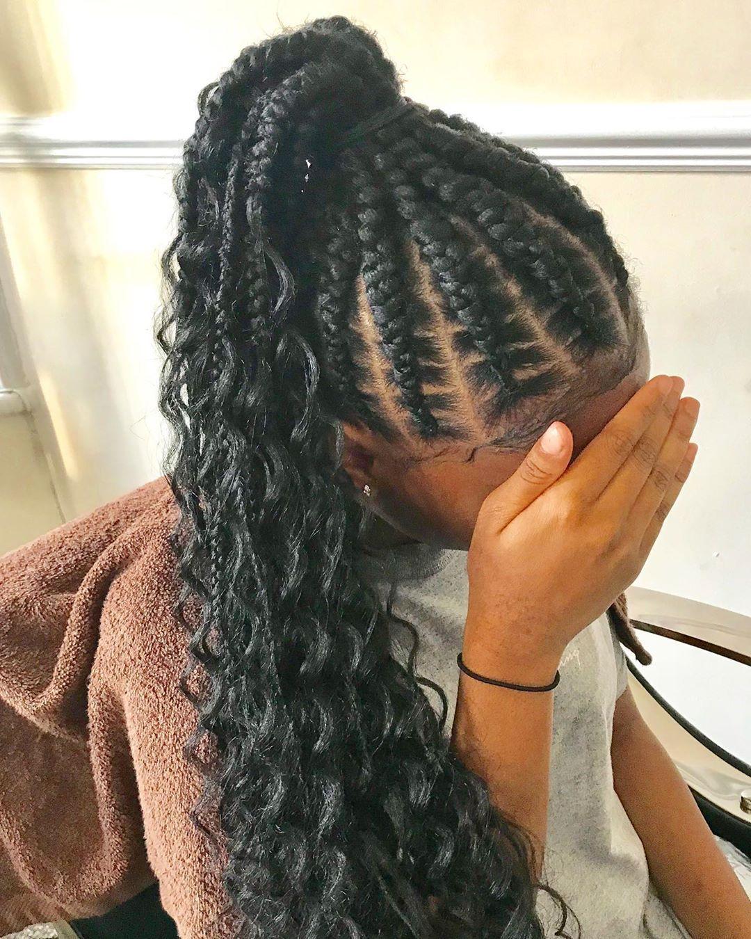 Cornrows Hairstyles For Black Women Cornrows Cornrows Braids Braids Tribal Braids Braided Hairstyles Bana In 2020 Hair Styles Cornrow Ponytail Cornrow Hairstyles