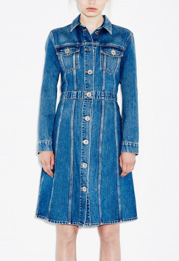 9fd23073d49 DJ Dress - 70s denim dress - BT Blue - M.i.h