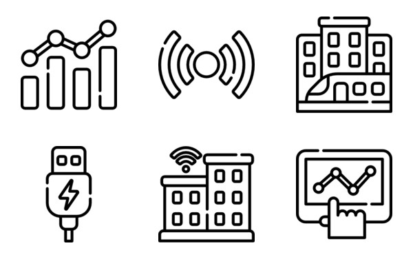 50 Free Vector Icons Of Smart City Designed By Freepik Smart City City Design Icon