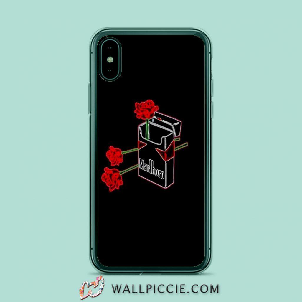 Marlboro and Rose iPhone Xr Case, iPhone X Case, iPhone 6s