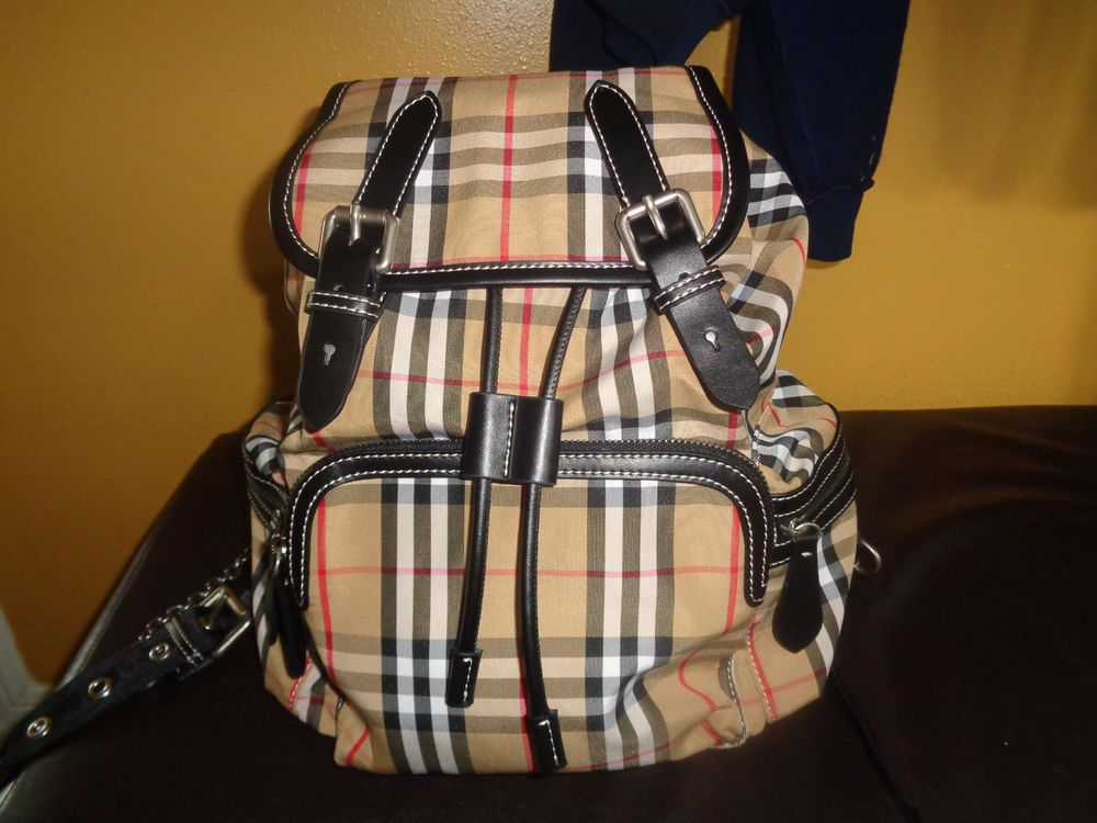 70af45629eb Burberry Backpack  fashion  clothing  shoes  accessories  mensaccessories   bags (ebay link)