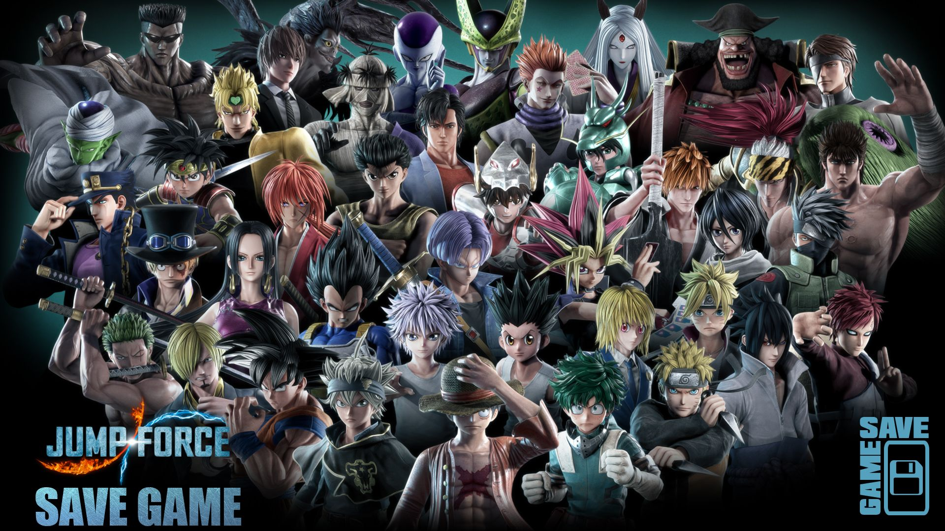 Jump Force 100 Save Game Games Force Gaming Pc