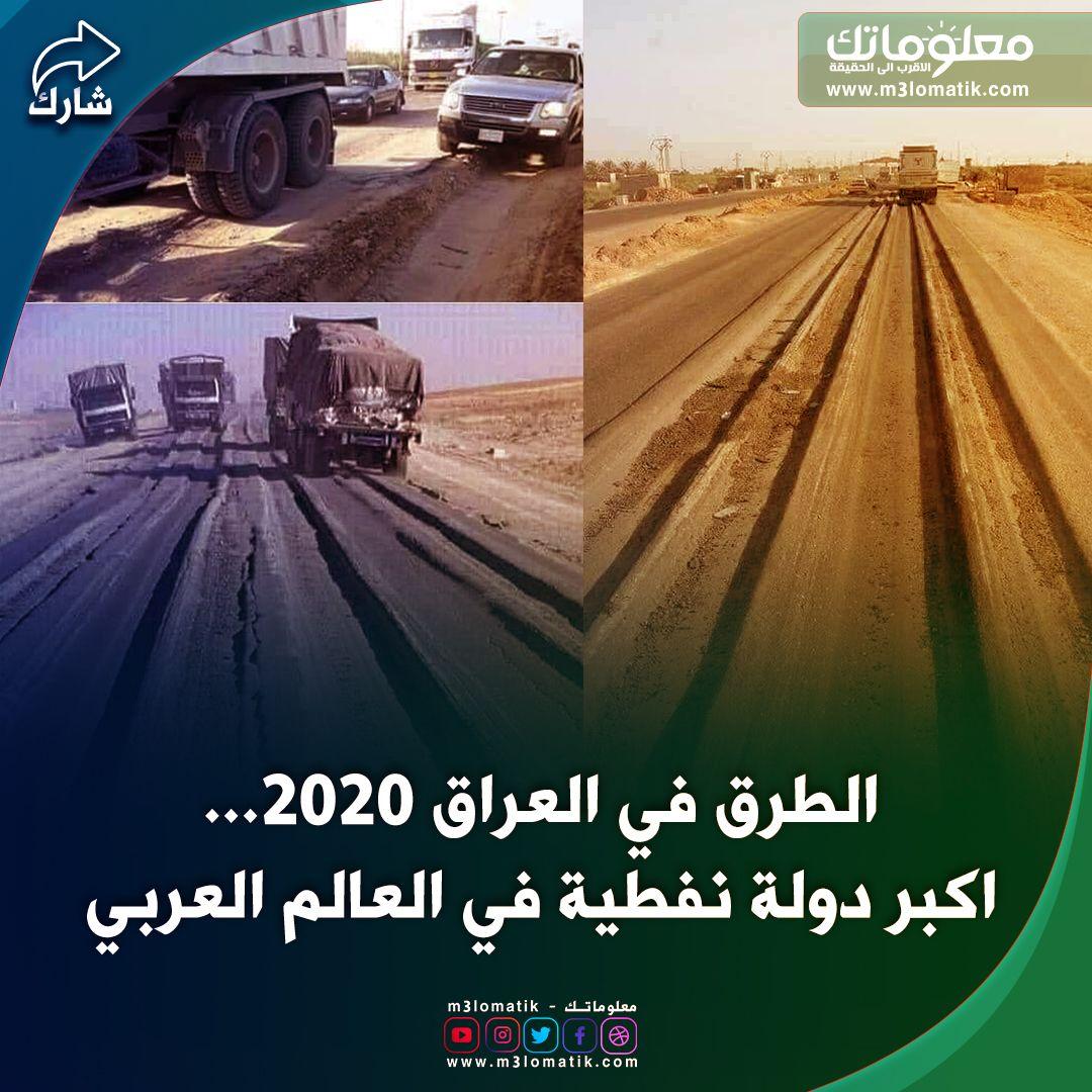 العراق Road Structures Highway