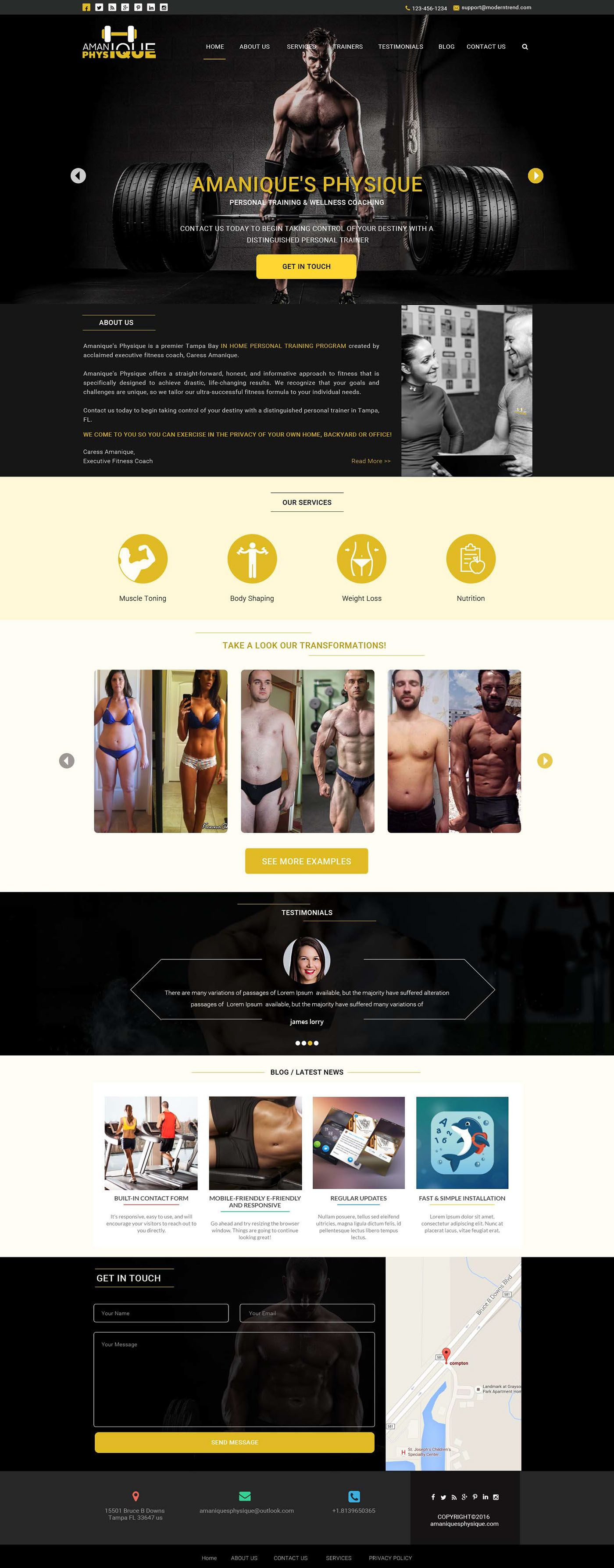 Check out my behance project gym trainer website psd mockup check out my behance project gym trainer website psd mockup https xflitez Image collections
