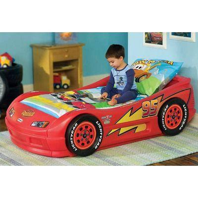 little tikes lightning mcqueen toddler race car bed. Black Bedroom Furniture Sets. Home Design Ideas