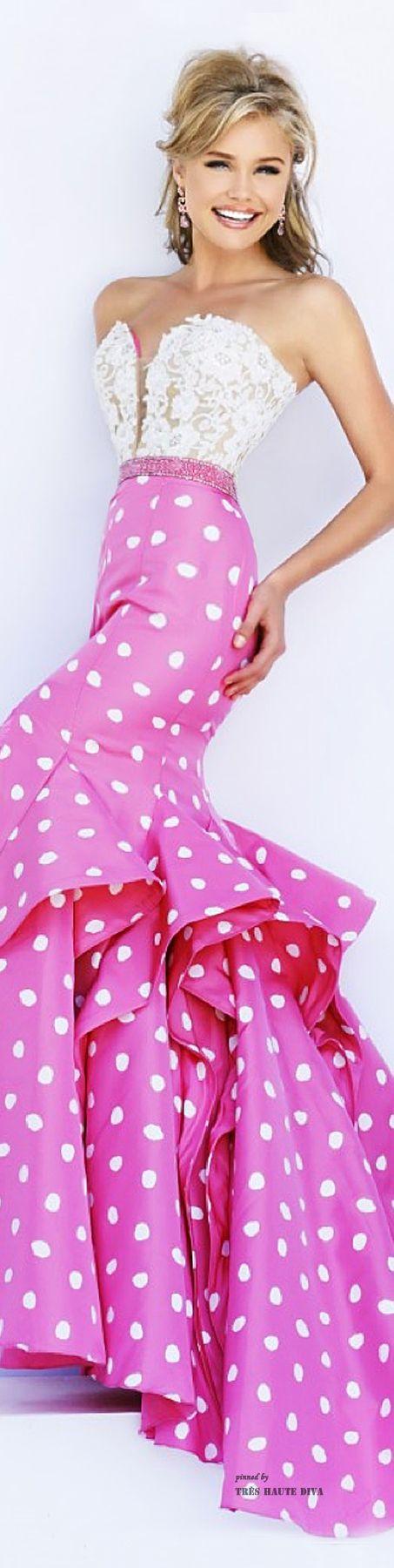Sherri Hill Spring 2015 | Boda Miguel y Bárbara | Pinterest | Rosas ...