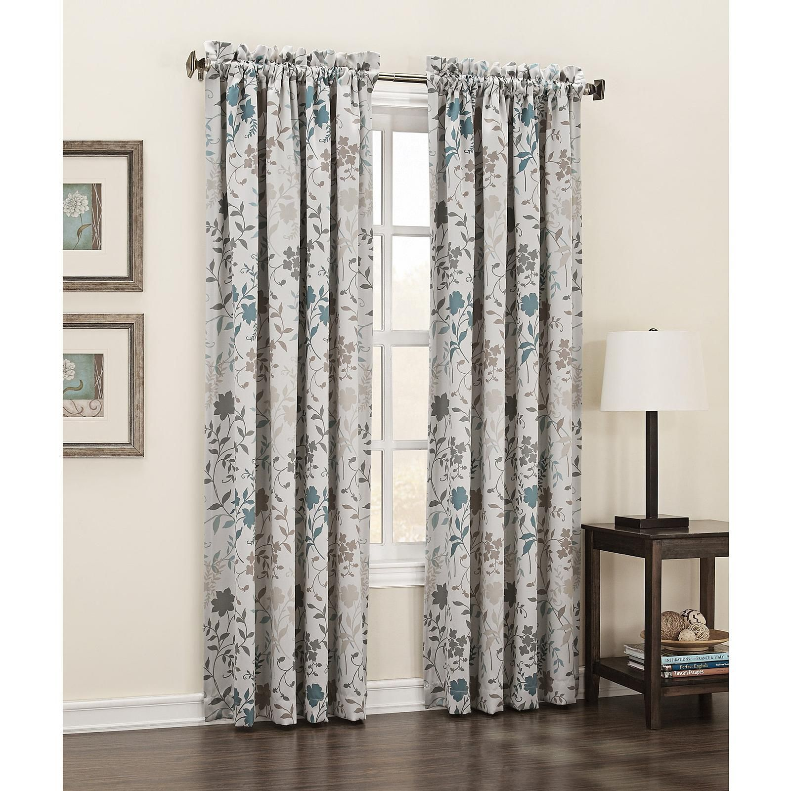 Kmart Com Floral Curtains Room Panel