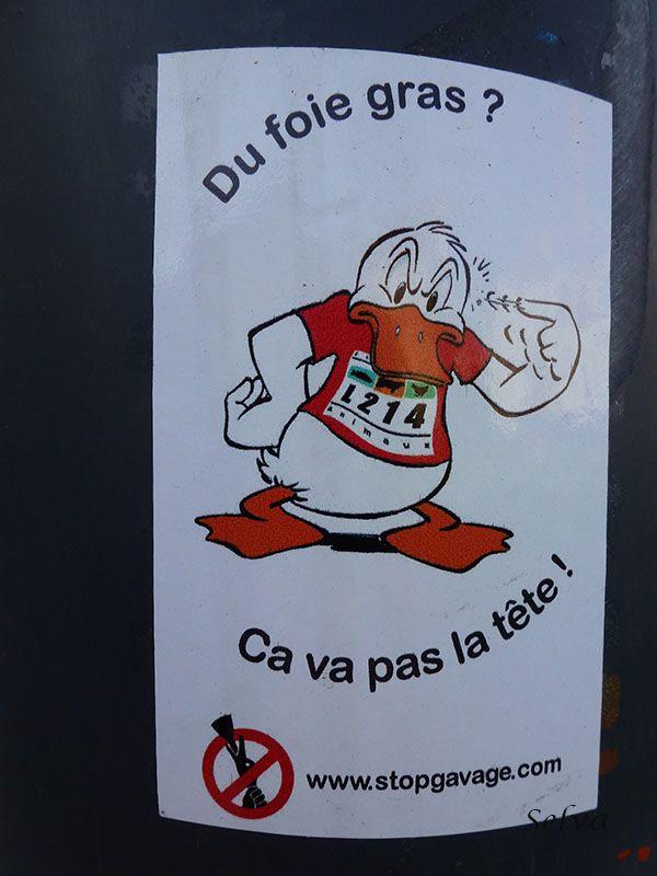Du foie gras? Ca ne va pas la tête!  Montreuil-sous-Bois