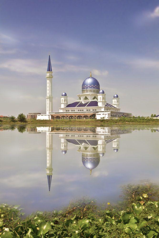 أشهر وأجمل المساجد في ماليزيا بالصور Tourism Taj Mahal Mosque