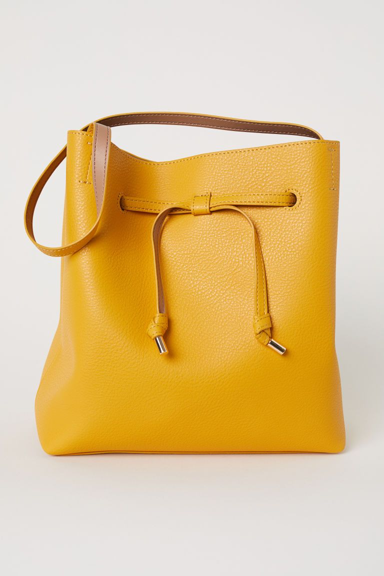 d836e5d384a Bucket Bag in 2019 | Wishlist | Yellow handbag, Bucket bag, Bags