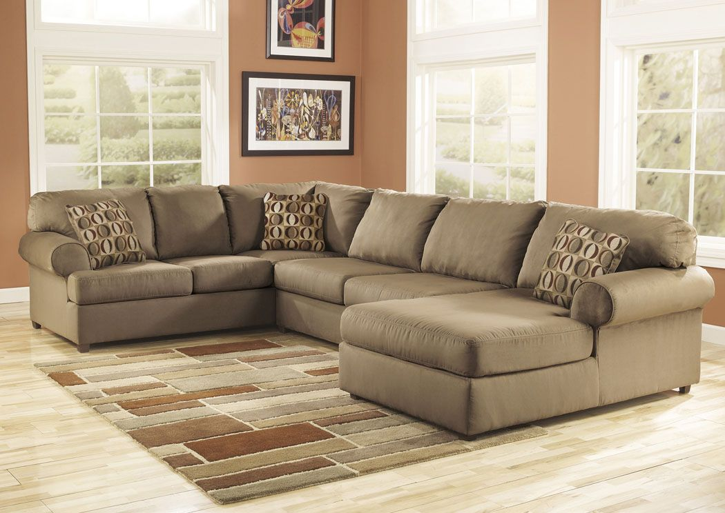 Jennifer Convertibles: Sofas, Sofa Beds, Bedrooms, Dining Rooms U0026 More!  Cowan Mocha Left Facing Chaise End Sectional