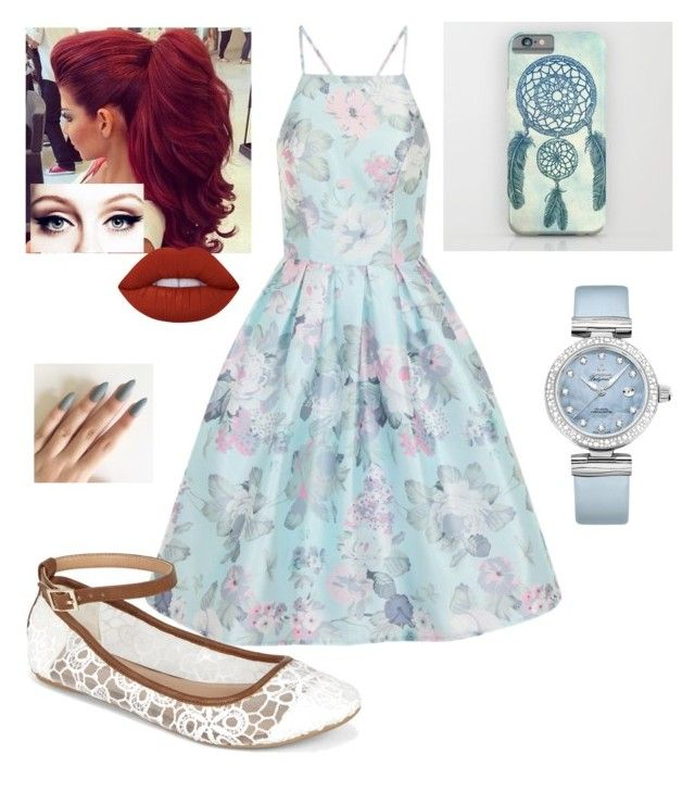 """Untitled #177"" by xox-calumsgxrl on Polyvore featuring Chi Chi, Call it SPRING, OMEGA and Lime Crime"
