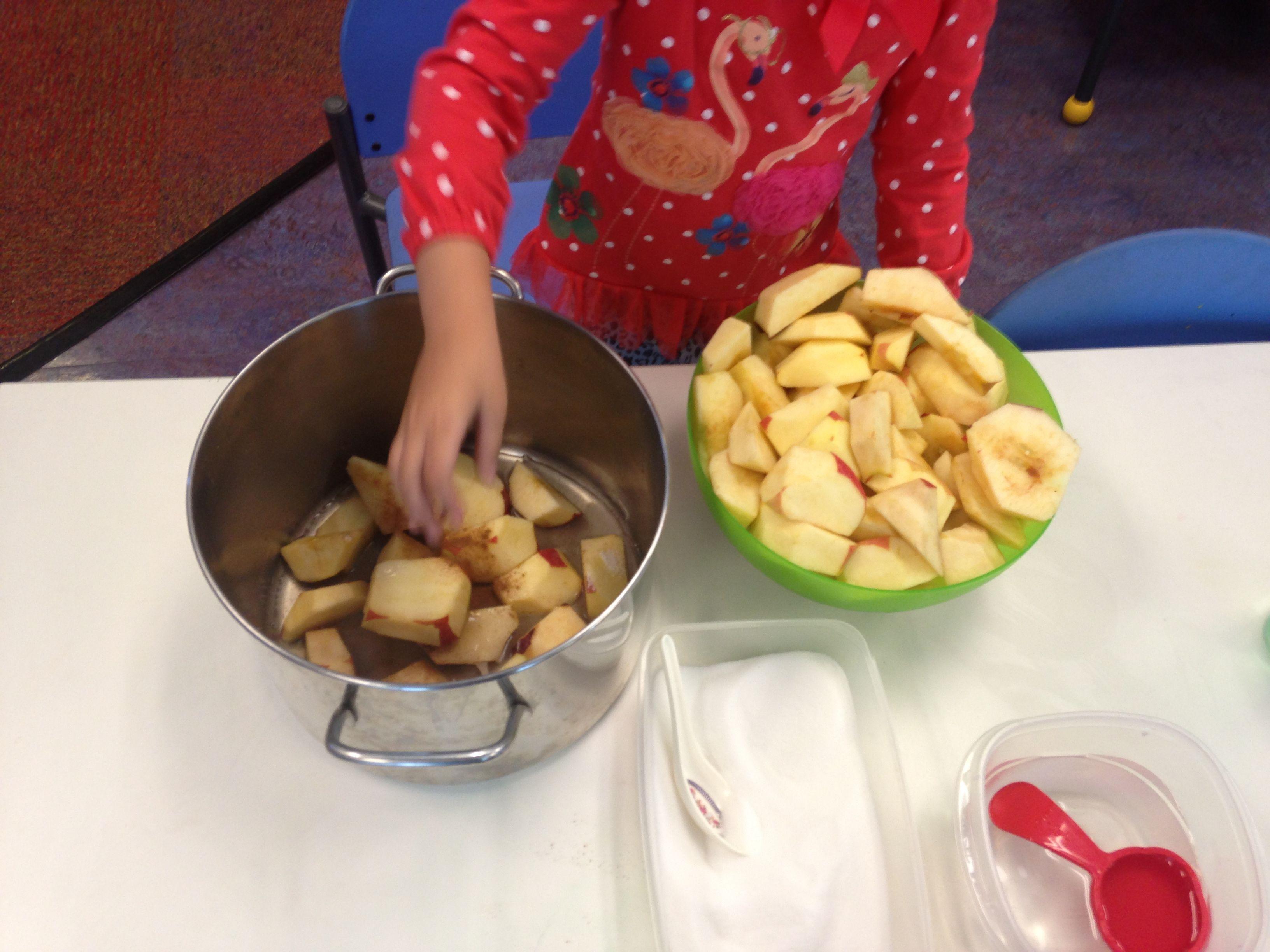 Preschool Food Activity Apple Sauce This Activity Was