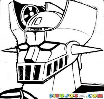 Imágenes para Colorear de Mazinger Z (12 fotos) - Imagenes con ...