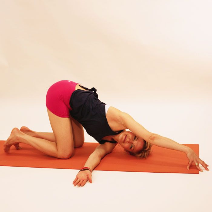 Who doesn't want a massage? The brilliance of these yoga moves is that when you do them and breathe deeply within the postures, it's like getting a fabulous massage—all without leaving your house or paying a single cent!