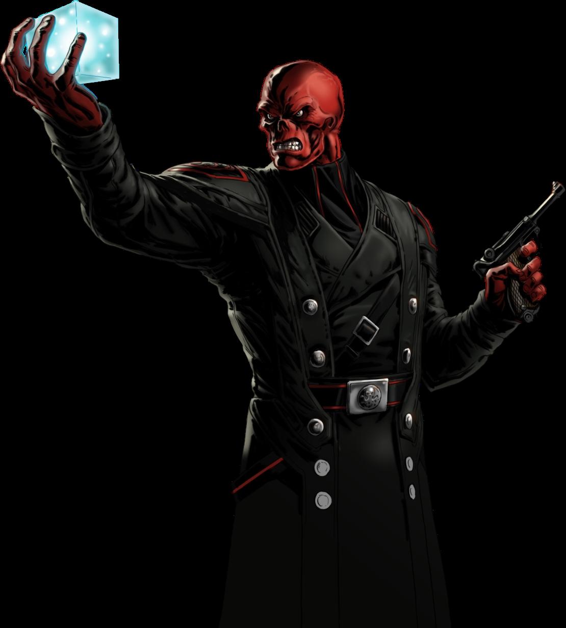 Red Skull Portrait Art Png Red Skull Marvel Red Skull Hydra Marvel