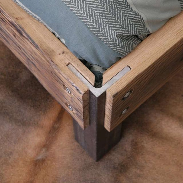 Archi Rugged Wooden Bed Discount 5 Signed By Stephen