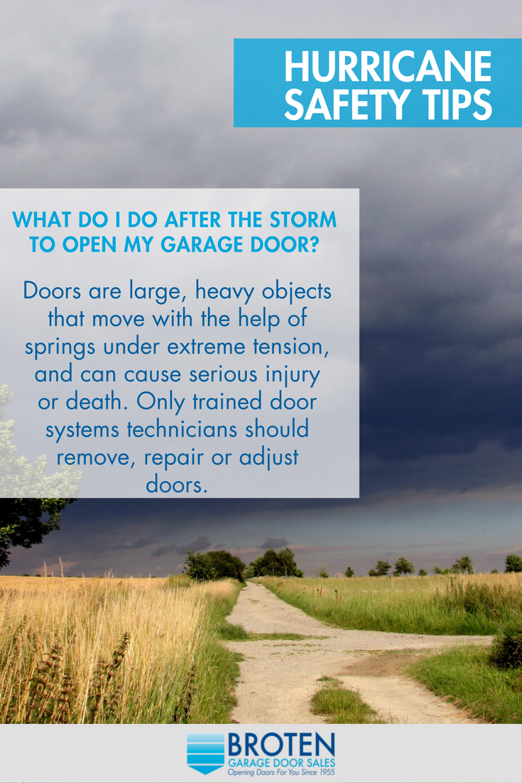 Hurricane Safety Tips Faqs Hurricane Rated Garage Doors