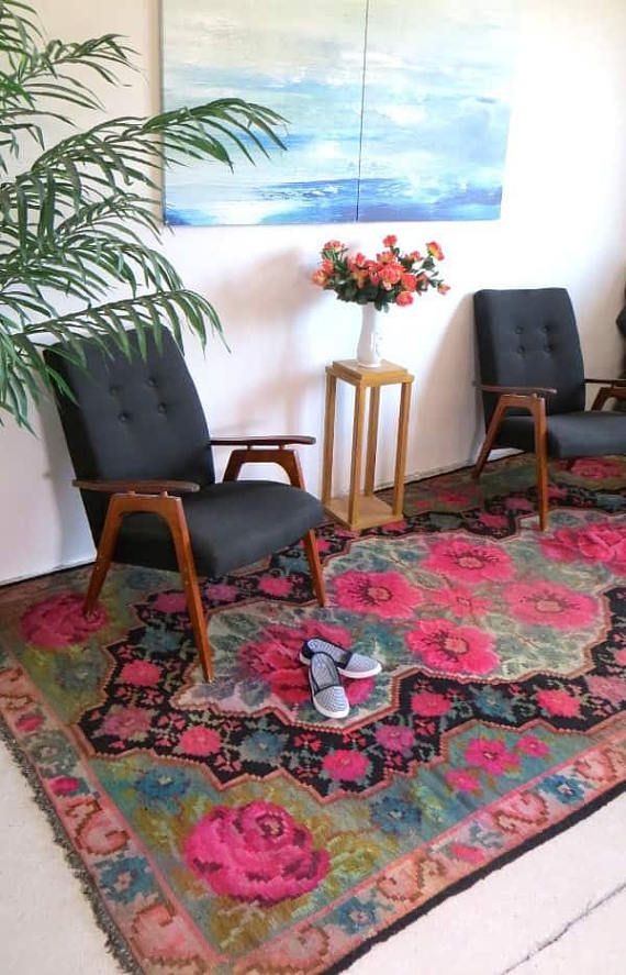 teppich rosa teppich bunt berber teppich kelim teppich teppiche online wollteppich teppich. Black Bedroom Furniture Sets. Home Design Ideas