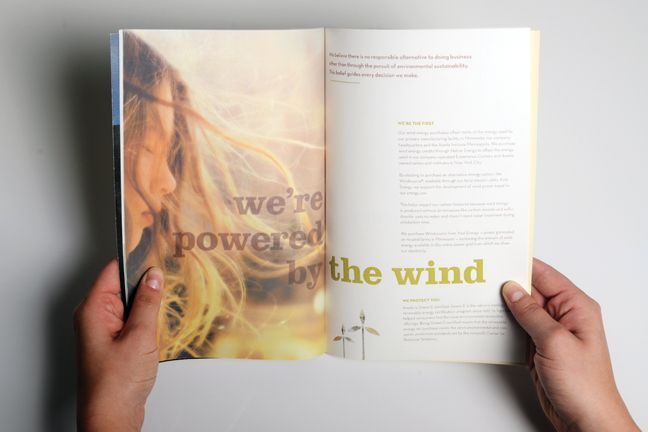 Aveda Annual Report - Flannery Haas Design & Illustration