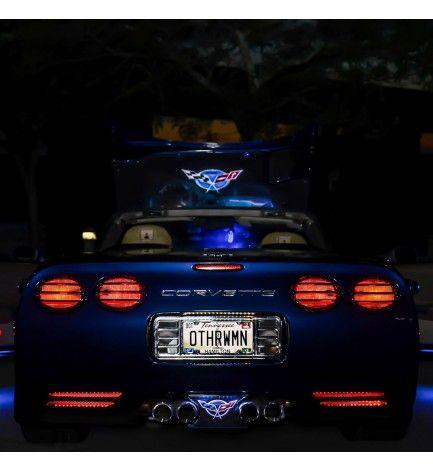 C5 Corvette Rear Fascia Led Light Kit 1997 2004 Led Light Kits Car Led Lights Corvette
