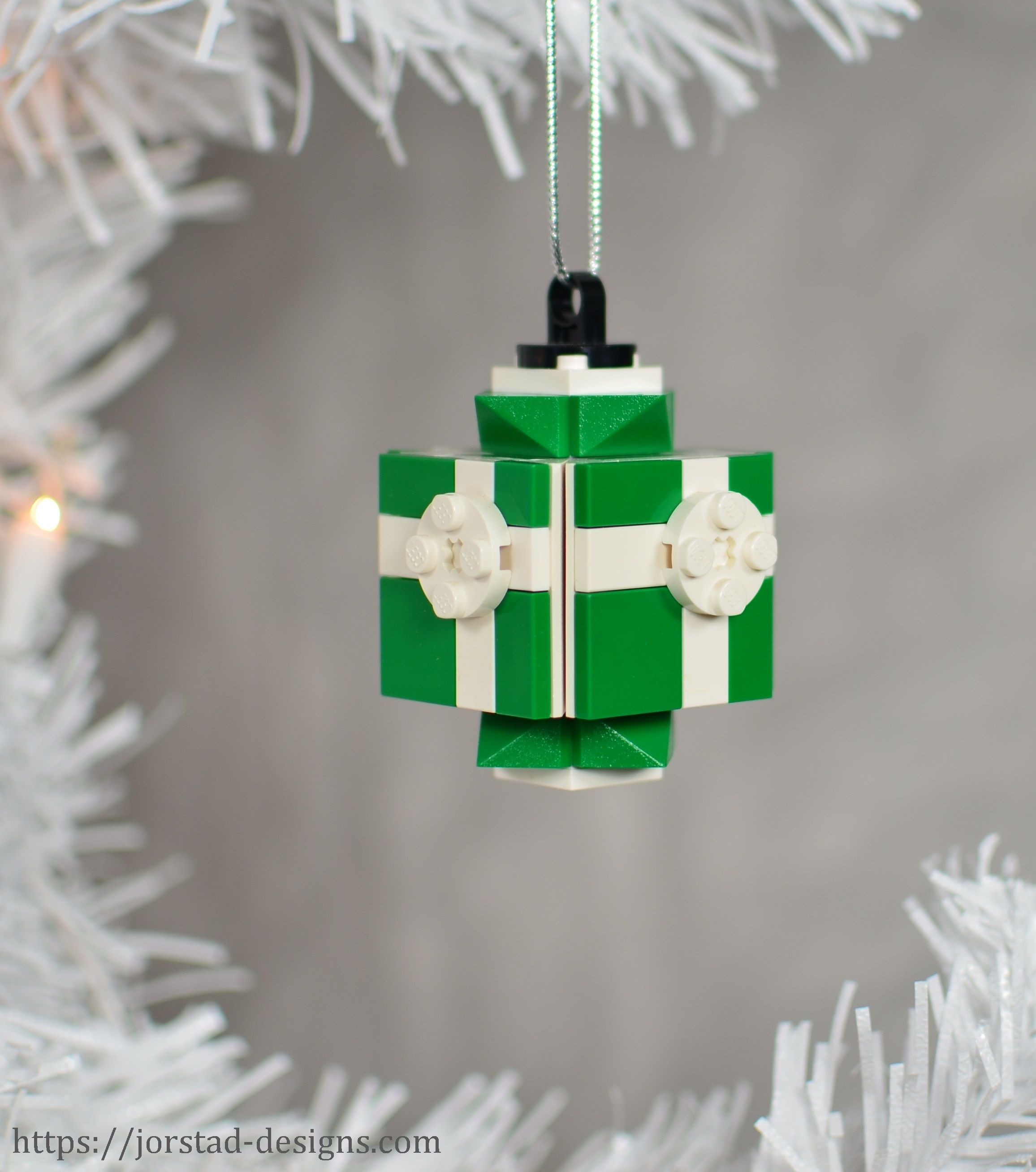 Lego box shop lego christmas ornaments at jorstaddesigns