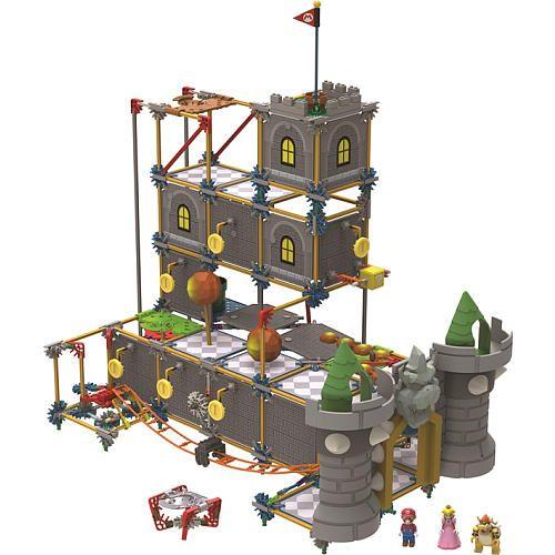 K Nex Super Mario Bowser S Castle Building Set K Nex
