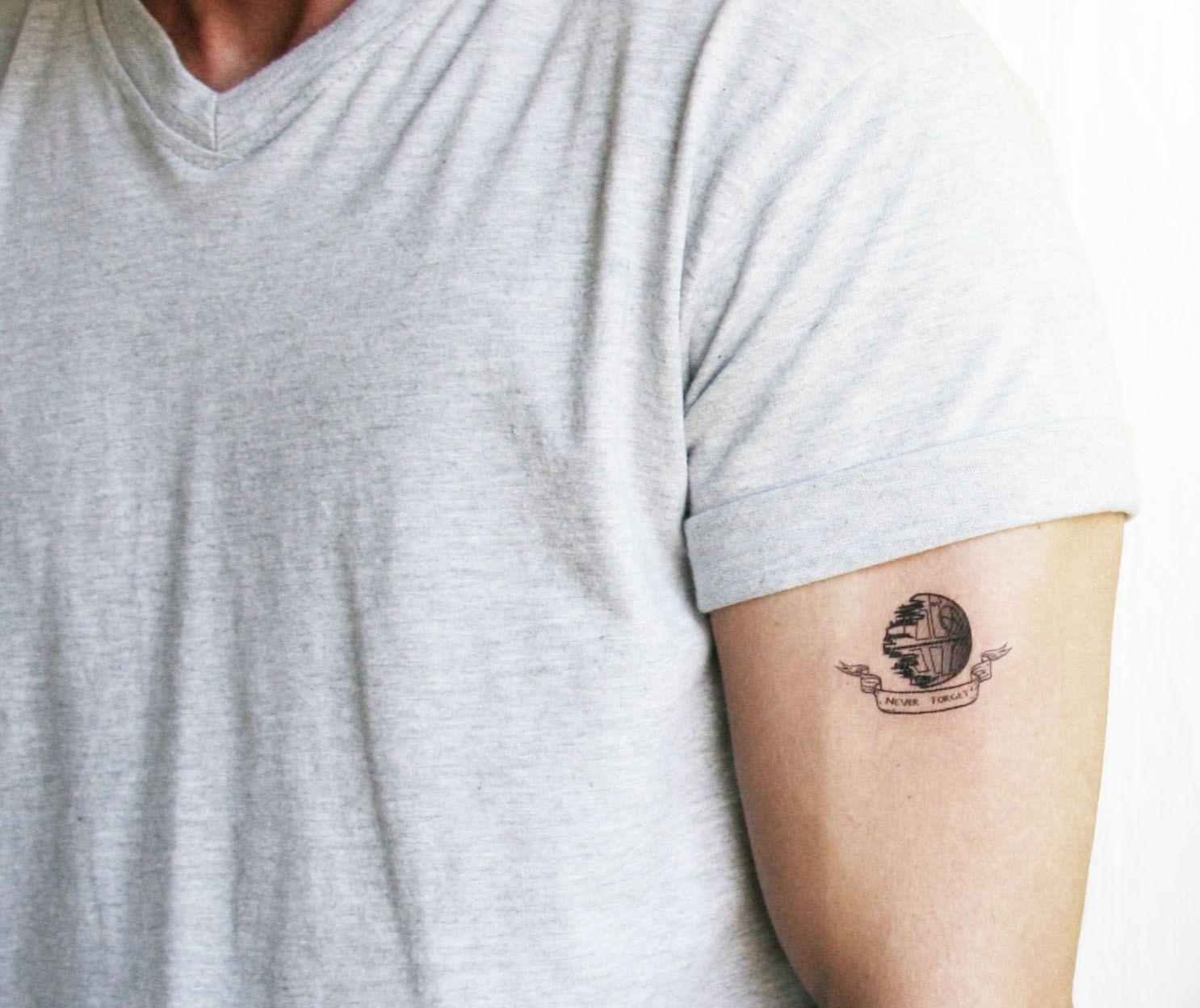 Death Star Tattoo Small: Minimalist Star Wars Tattoos - Google Search