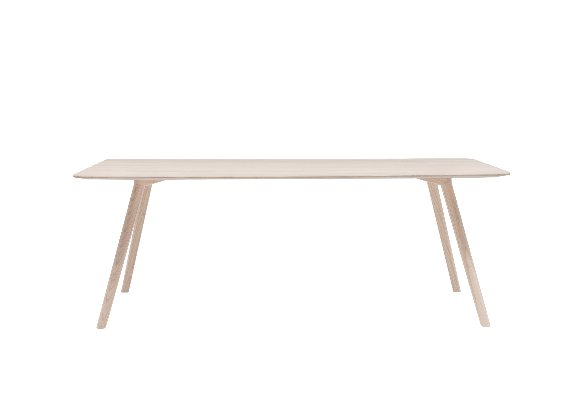 MEYER Designed by David Spinner Solid ash table, size L