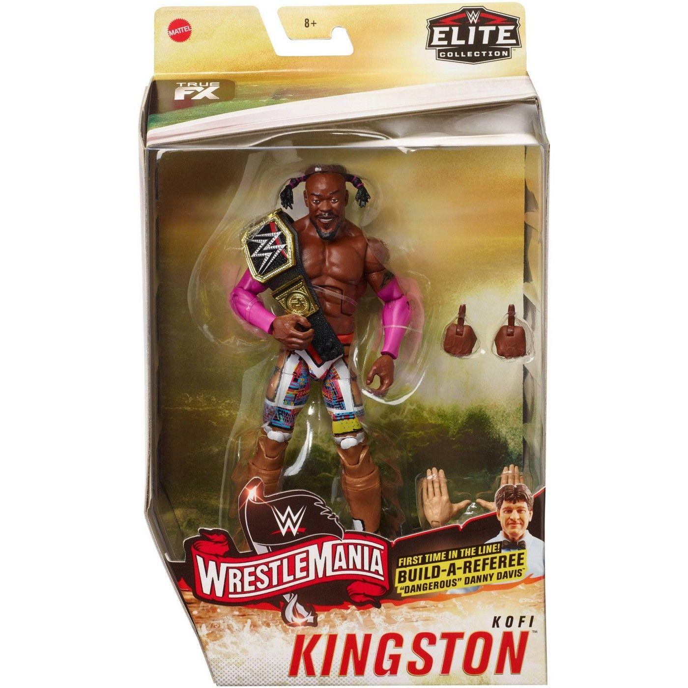 WWE Kofi Kingston WrestleMania Elite Collection Action