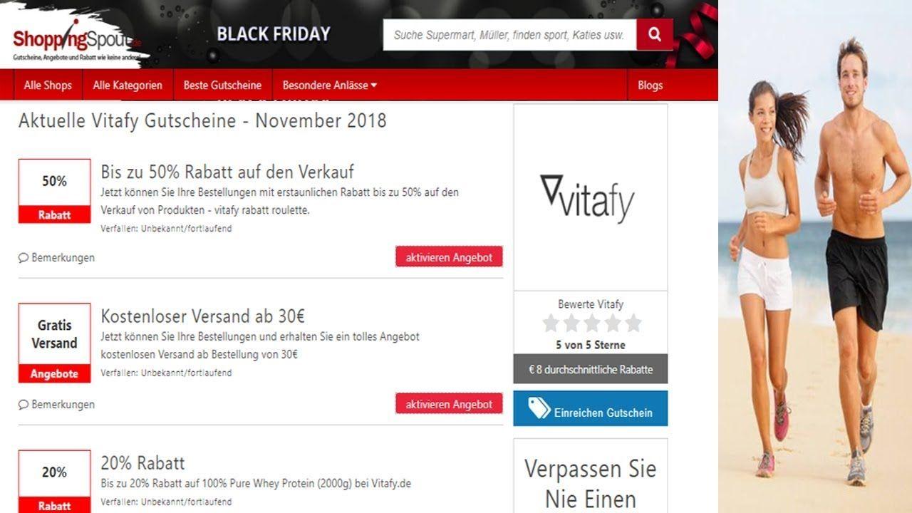 Vitafy Codes Gutschein Code Gutscheine Rabatt