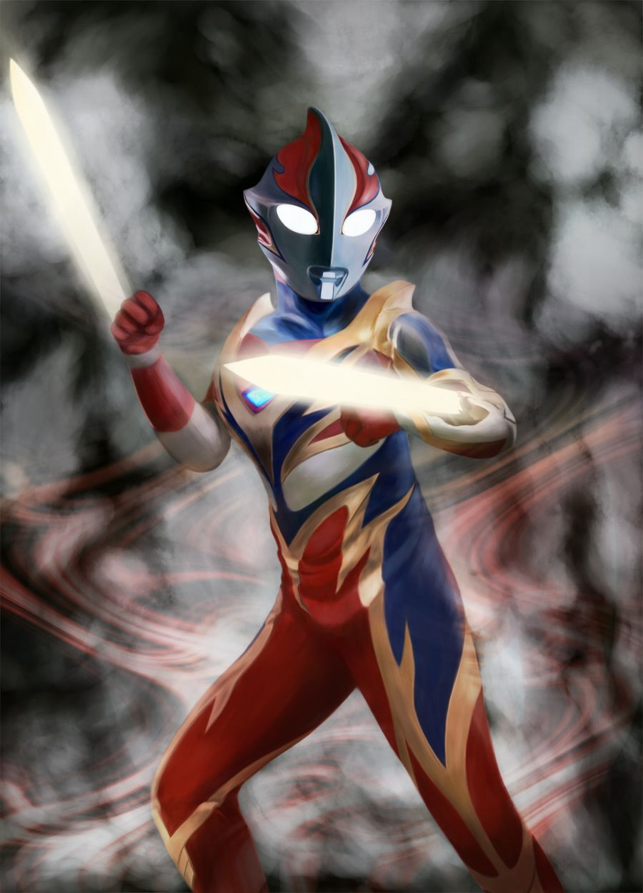 Ultraman Anime Action Figure di 2020 Desain karakter