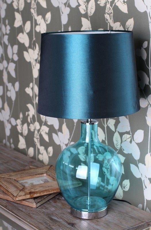 L mparas de mesa modernas de cristal blog decoraci n - Mesas modernas de cristal ...
