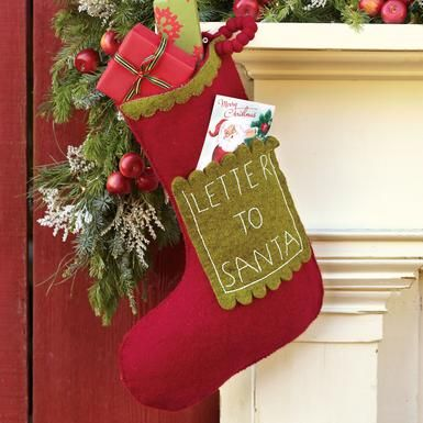 Tis the season for red cute letter to santa stocking christmas tis the season for red cute letter to santa stocking spiritdancerdesigns Gallery