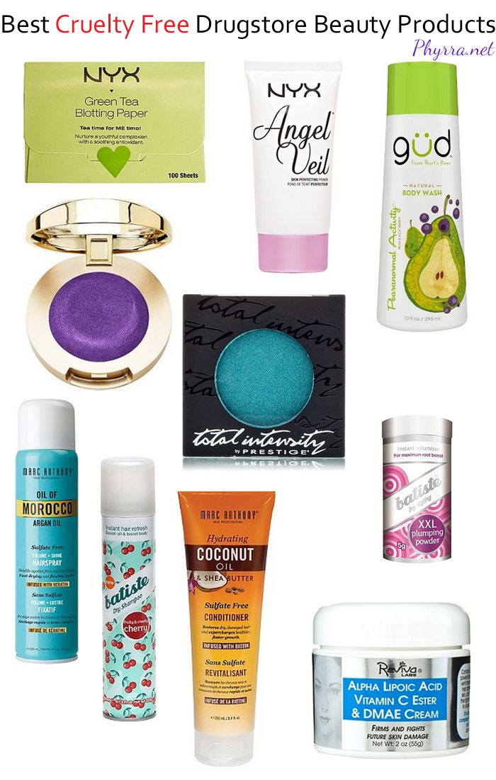 10 Best Cruelty Free Drugstore Beauty Products Cruelty