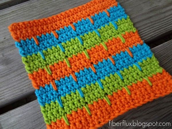 22 Top Crochet Patterns for the Kitchen and Bathroom | Trapillo ...