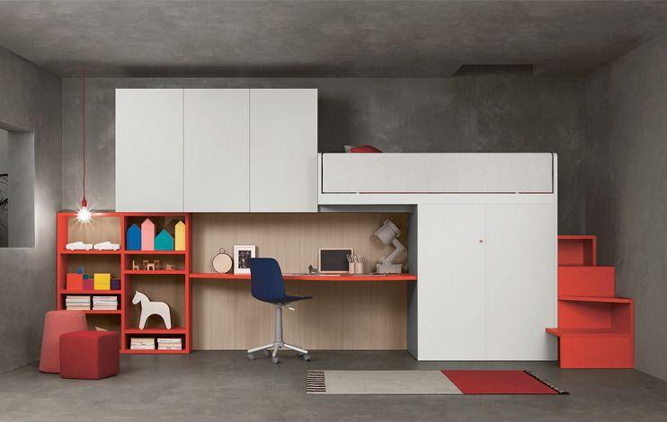 Nidi Camerette ~ Buy nidi modern childrens modular furniture online at mood kids